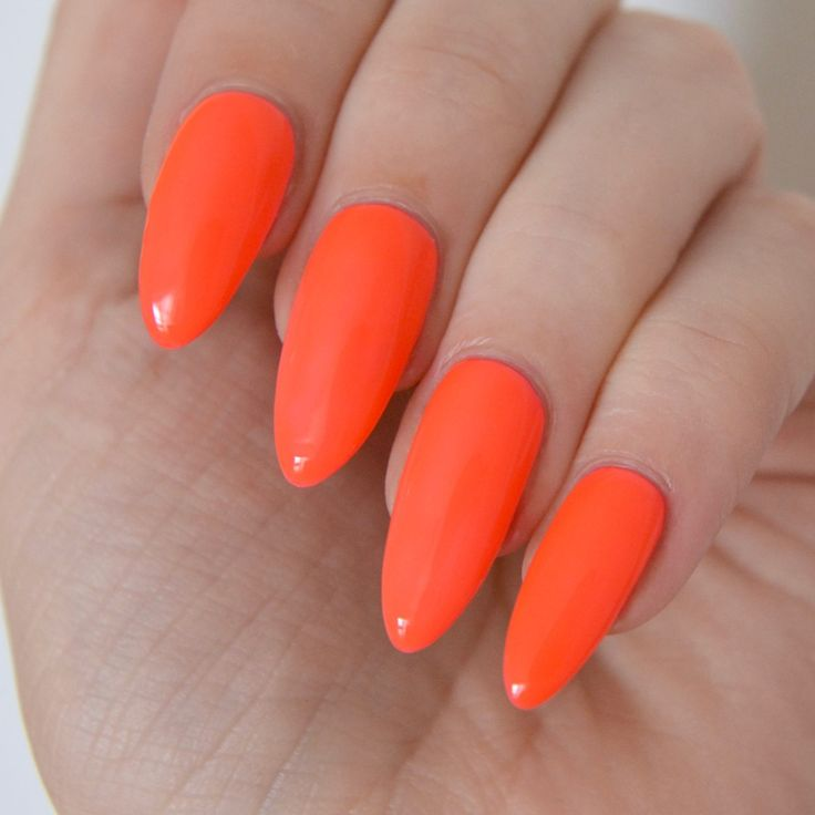 Pastel Orange Nail Polish Essie: 17 Best Ideas About Neon Coral Nails On Pinterest