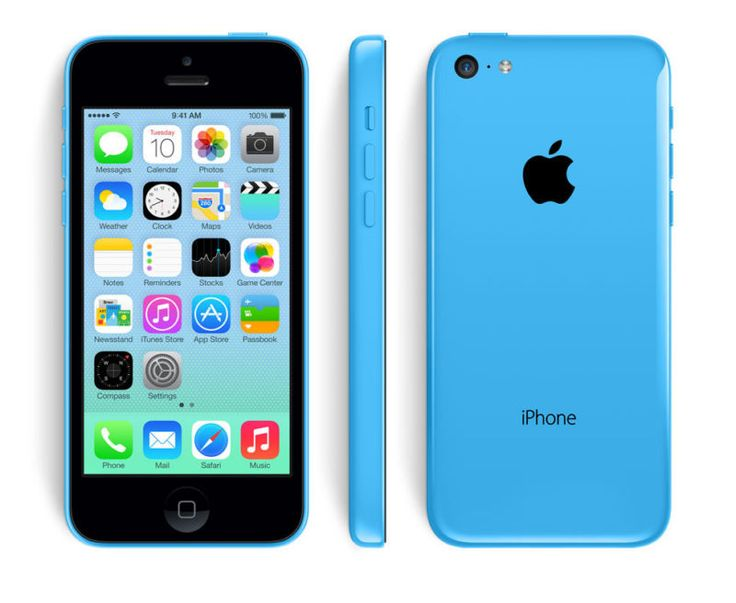 ***IPHONE 5C 16GB BLUE FACTORY UNLOCKED! APPLE 5 C 16 GB GSM PHONE NEW!*** #ad