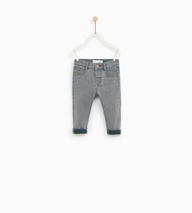 Jeans cor (cinza): ZARA KIDS 3-4 (12,95€)