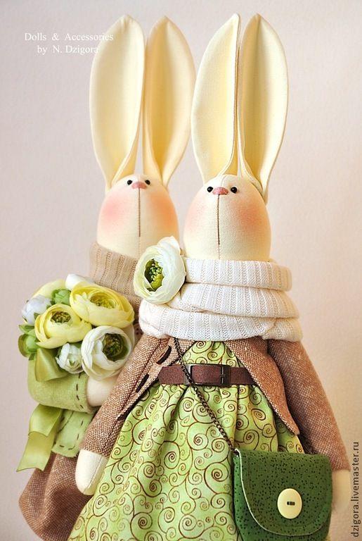 Игрушки животные, ручной работы. Ярмарка Мастеров - ручная работа С весной в душе, с любовью в сердце.... Handmade.