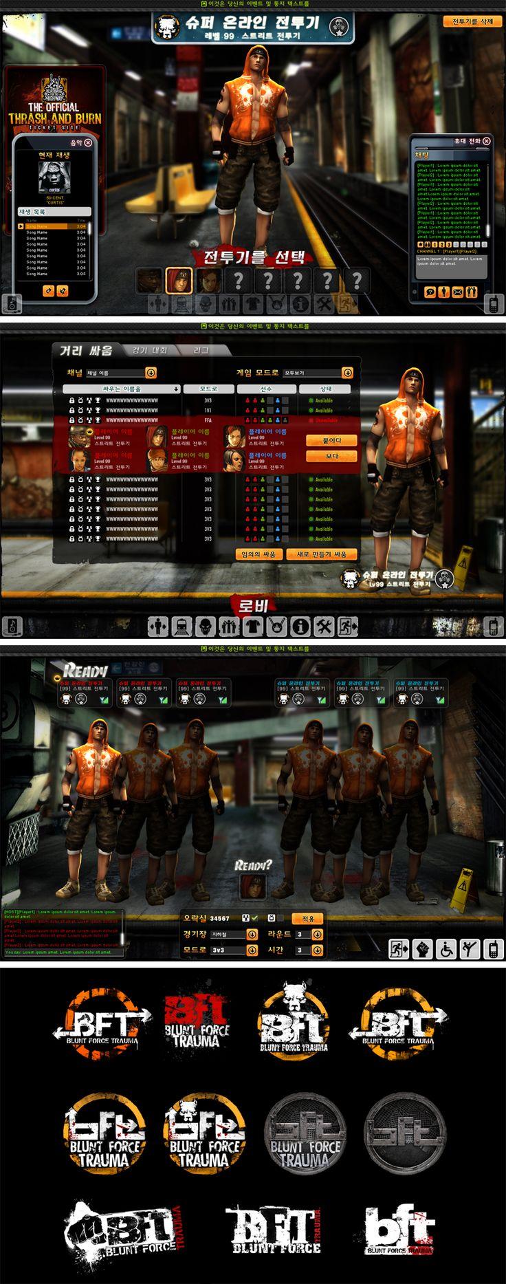 PC Game UI - BFT by ~Cashong on deviantART