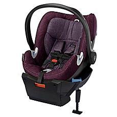 image of Cybex Platinum Aton Q Plus Infant Car Seat in Grape Juice