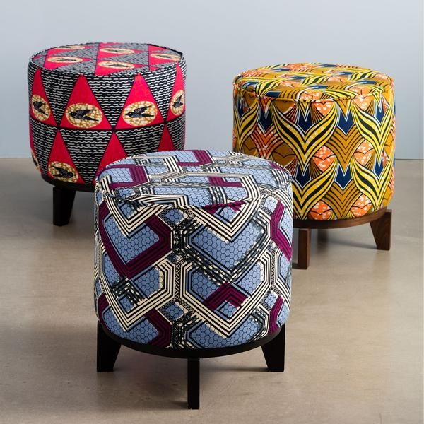 Update Your Furniture with African Prints >> find more inspiration on my blog, click here!