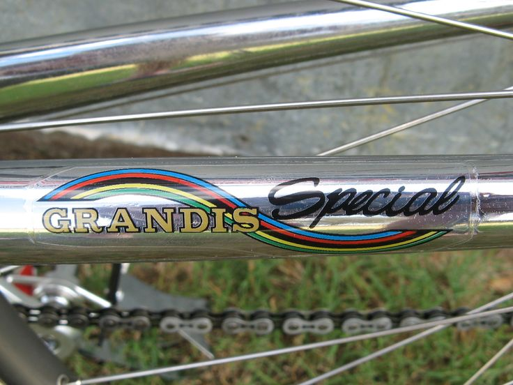 Velocals Grandis bicycle decal / custom bike decal  Decals made to order shipped internationally for restoration projects, races, and customization
