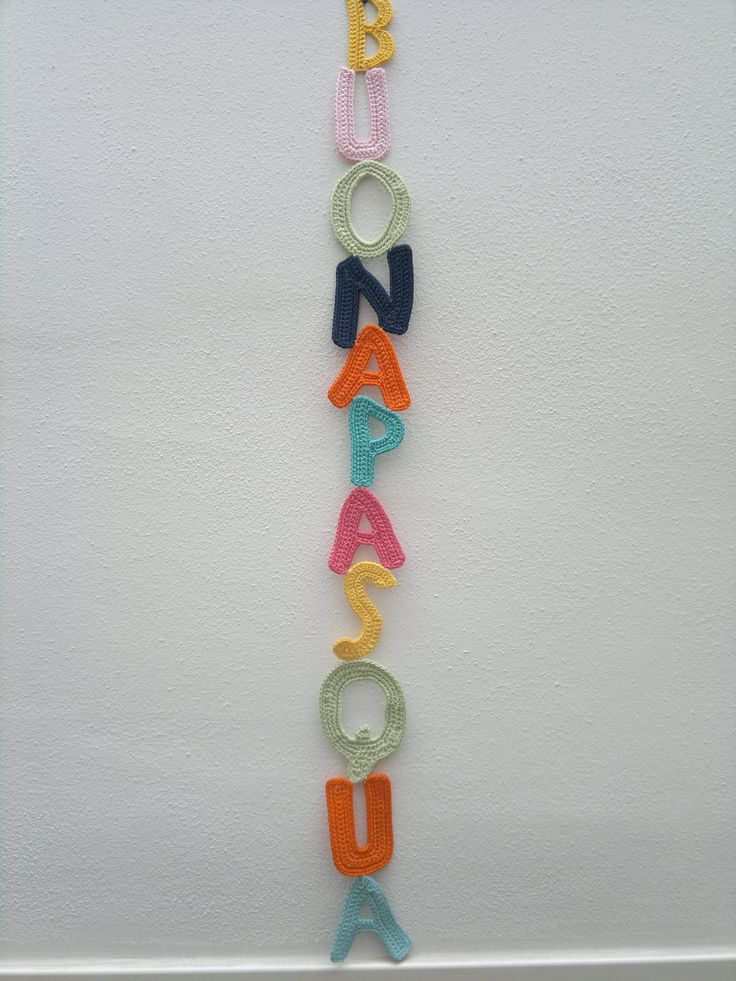 ANNA CHIARA BRIGHENTI su Crowdknittin Store SCRITTA BUONA PASQUA http://store.crowdknitting.com/143-thickbox_01mode/scritta-buona-pasqua.jpg  scritta buona pasqua realizzata con lettere lavorate all'uncinetto con filato di cotone di vari colori