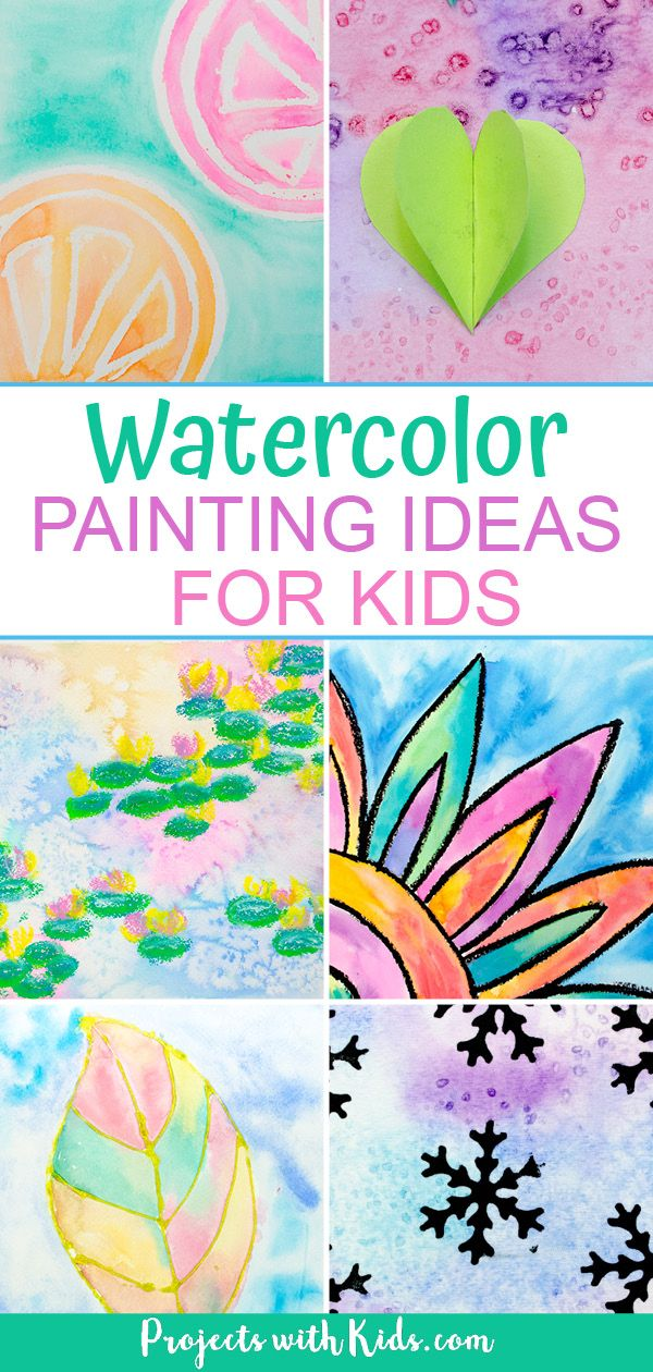 The Most Fun Creative Watercolor Painting For Kids Painting