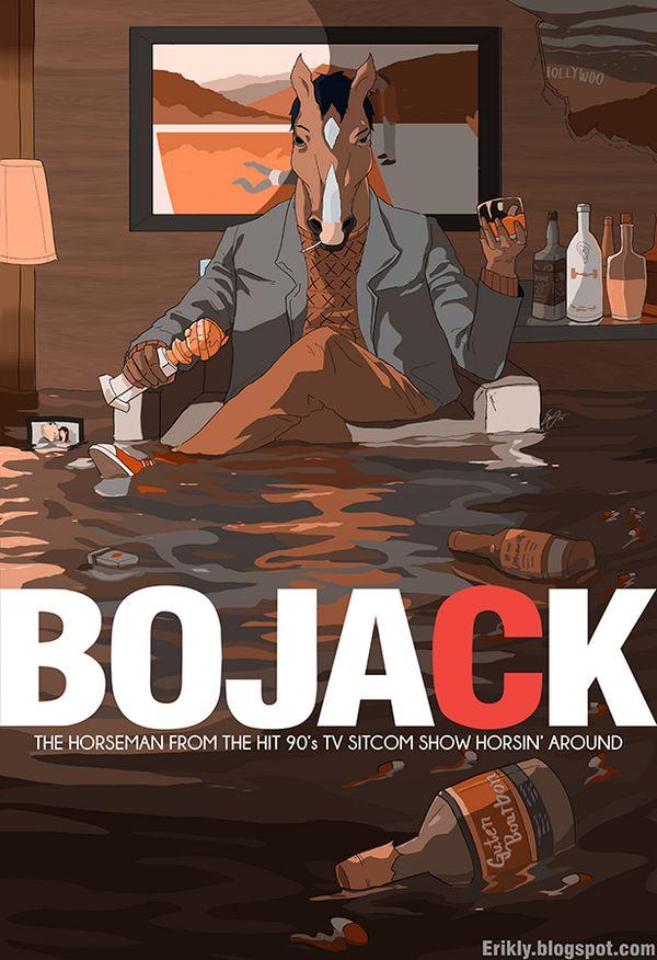 Bojack Horseman - Mad Men Style