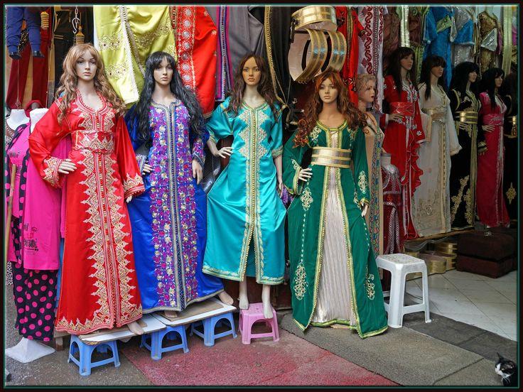https://flic.kr/p/e6QJMd | mannequins of Fes Fez, Fes-Boulemane, Morocco