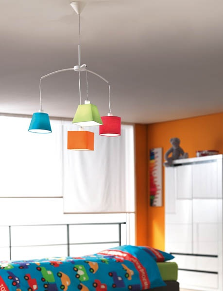 ... lighting for boys room, by Philips Consumer Luminaires - toy room