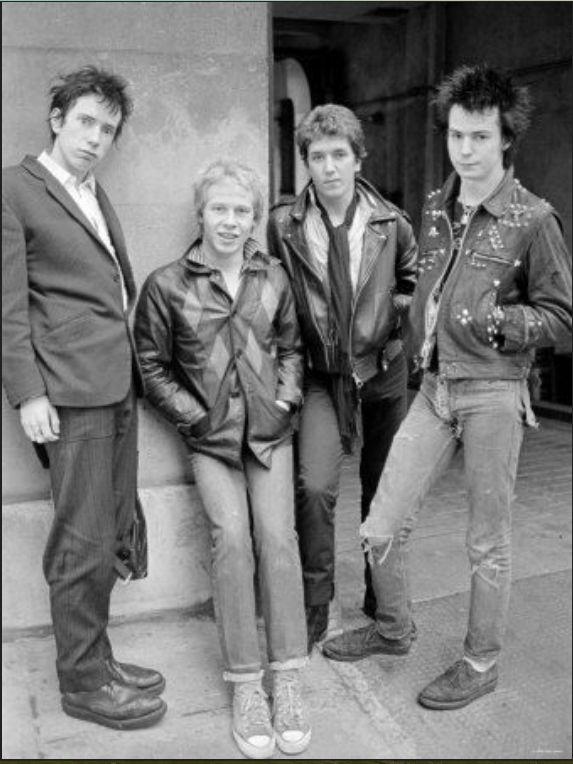 Johnny Rotten, Paul Cook, Steve Jones, Sid Vicious