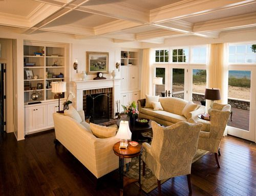 Traditional living room with fireplace home furniture placement arrangement ideas
