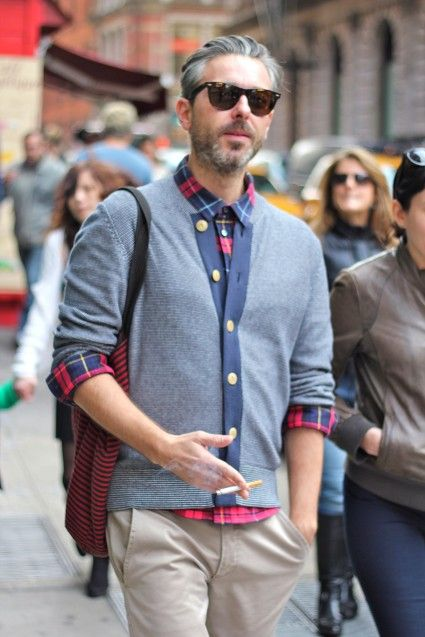 everything about this guy is sweet - except the cig of course.  (via fashables.com)Cours, Fashablescom
