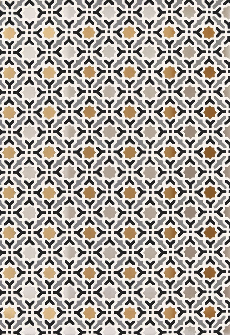 Wallcovering / Wallpaper | Serallo Mosaic in Mica | Schumacher