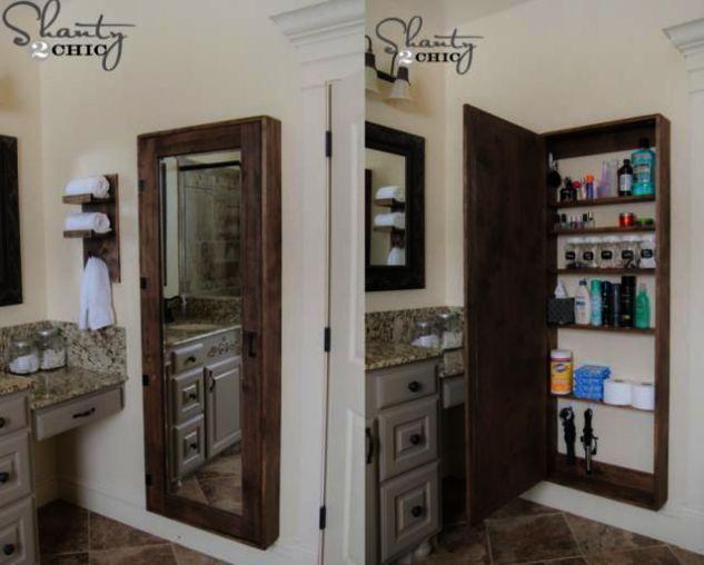 Bathroom Vanities Hickory Behind Bathroom Cabinets Discount Bathroom Remodel Simi Valley Within Bathro Bathroom Decor Bathroom Mirror Storage Bathroom Storage