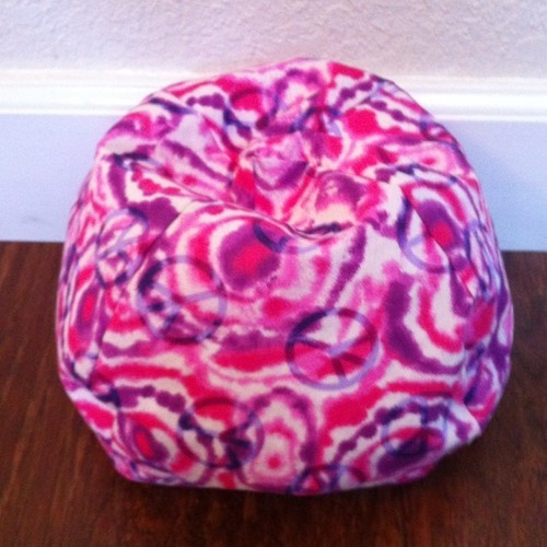Bean Bag Chair For 15 18 Dolls American Girl Or Bitty Baby Bigger Size