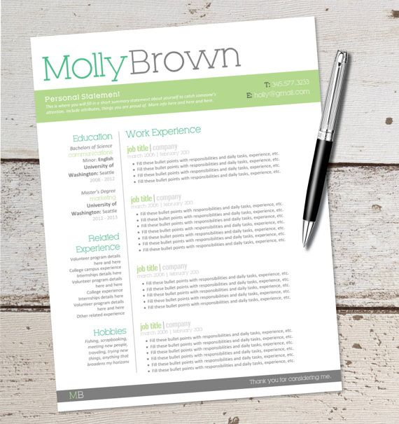 52 Best Resumes Images On Pinterest | Resume Ideas, Resume Tips