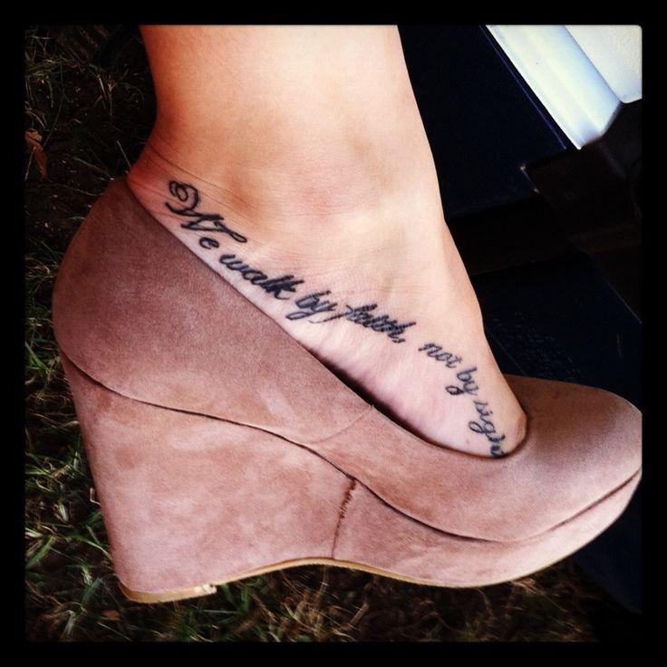 32 Foot Tattoo Designs Ideas: 32 Best Live Life Hope Tattoos On Foot Images On Pinterest