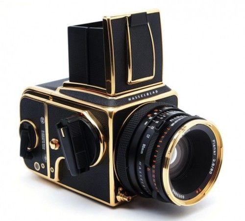black & gold hasselblad