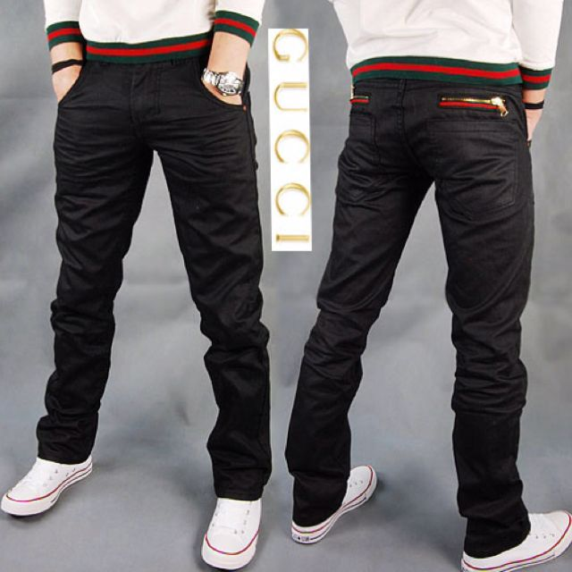 Nice fitting Mens Gucci Jeans. #style #mensfashion | Menu0026#39;s Style - Streetwear | Pinterest | Nice ...