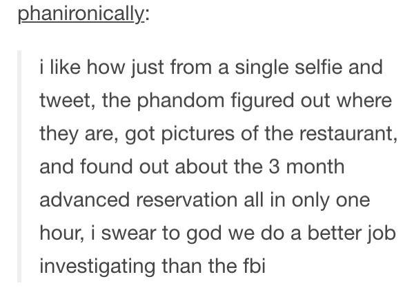 It's disturbing>> it's amazing<< Like Phil? << exactly like Phil