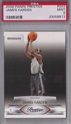 nice 2009 Panini Prestige JAMES HARDEN (RC) ROOKIE #203 PSA 9 SACRAMENTO KINGS - For Sale View more at http://shipperscentral.com/wp/product/2009-panini-prestige-james-harden-rc-rookie-203-psa-9-sacramento-kings-for-sale/