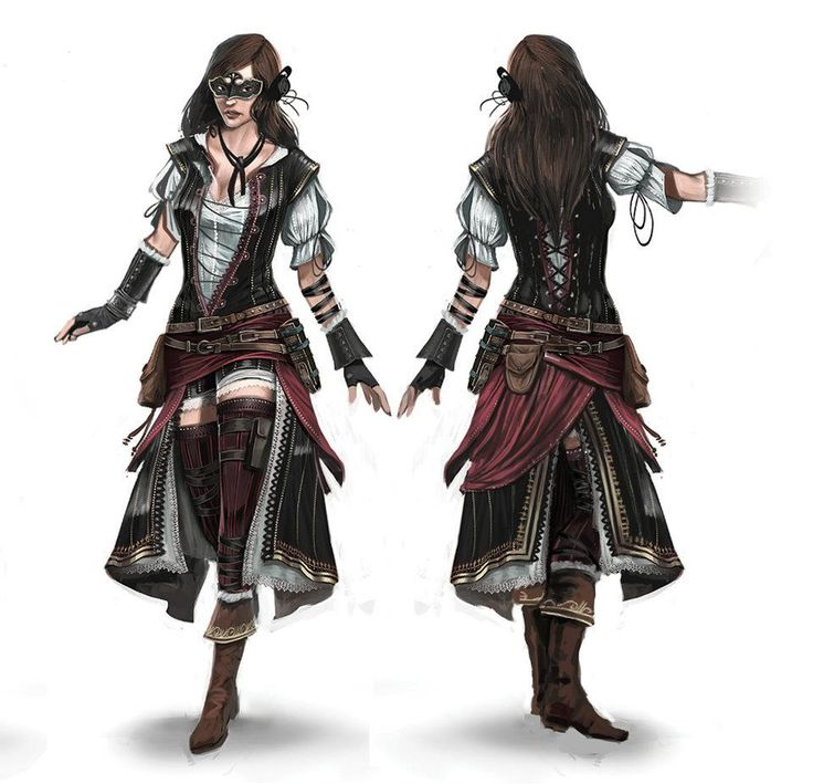 Bits of this costume could work for at least three of my characters, I like it.