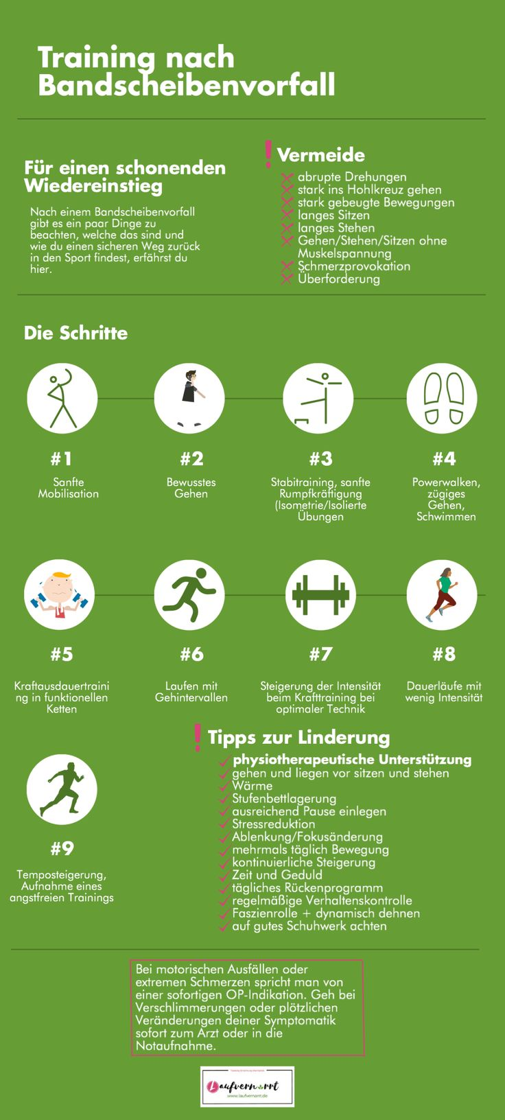 Sport and running after a herniated disc – life goes on