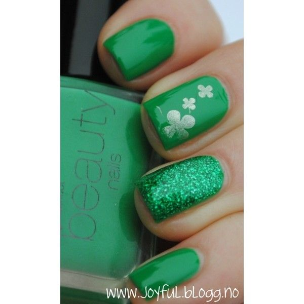 Happy St Patricks day :) ❤ liked on Polyvore