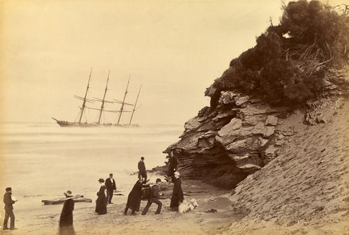 Fred Kruger  Wreck of the ship George Roper, Point Lonsdale  1883