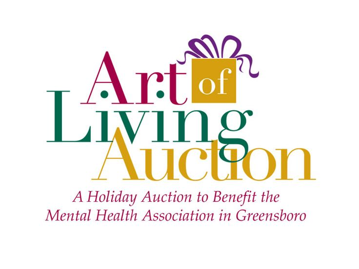 Designed for the Mental Health Association of Greensboro's annual fundraiser, the Art of Living Auction logo brought some of the season's festivity into play. Check out more of our design work at: http:www.atlanticwebworks.com