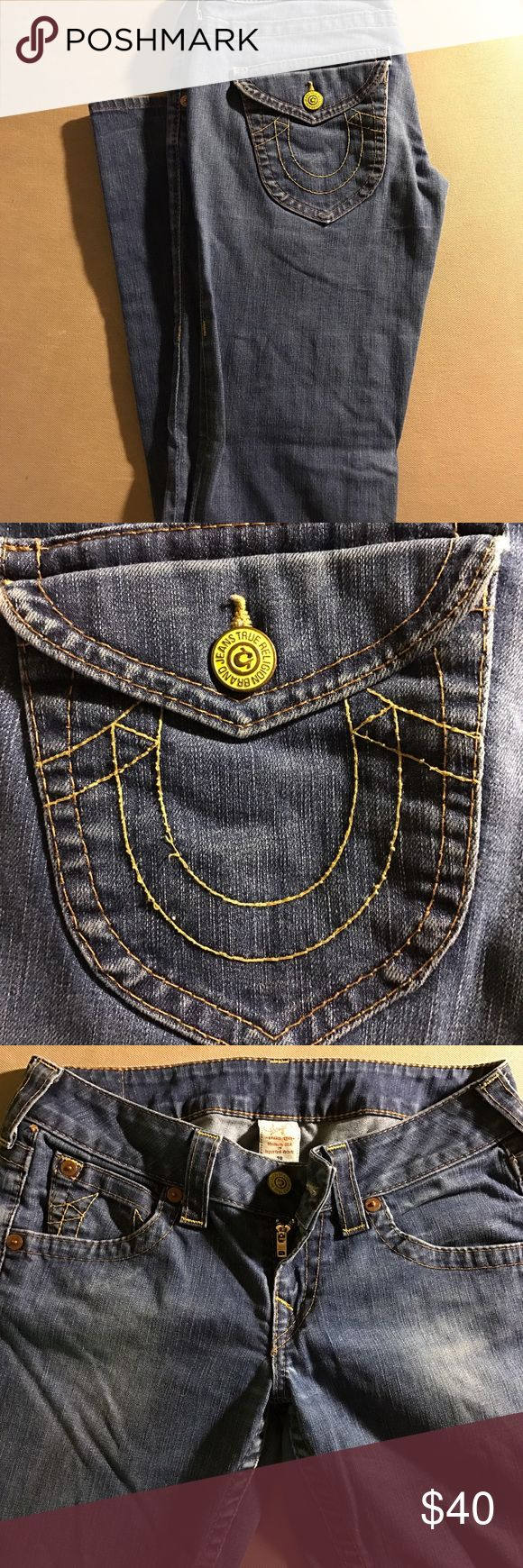 True religion jeans Boot cut True Religion jeans. Original bag and tag included. True Religion Jeans Boot Cut