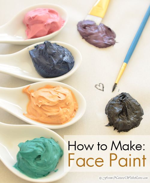 Make Your Own Face Paint | The Natural Beauty Workshop