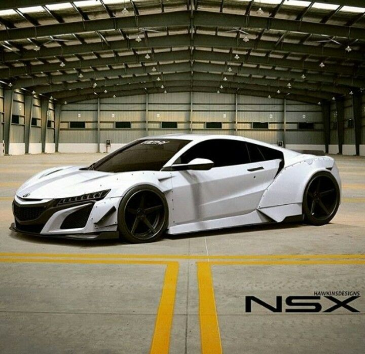 2017 Acura NSX I Did Not See This Option On The Build Your NSX Page Render  Via