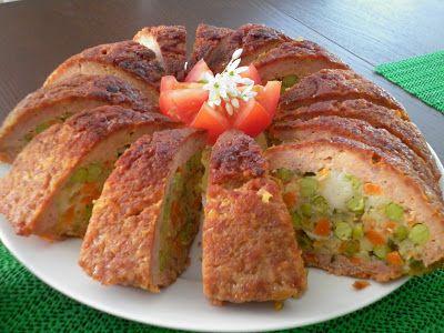 Heti Menü - Kevés pénzből finomat és változatosat: Zöldségekkel töltött fasírt
