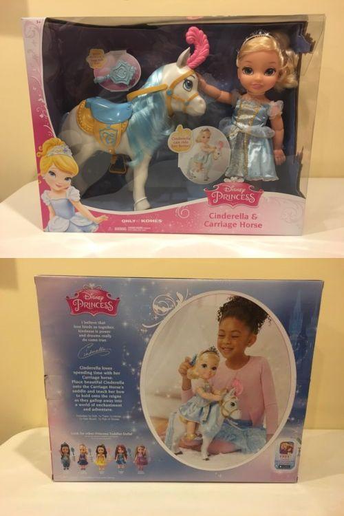 Cinderella 44034: Disney Princess Cinderella And Carriage Horse Toddler Doll Set Nib Rare -> BUY IT NOW ONLY: $69.99 on eBay!