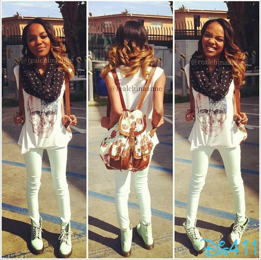 China Anne McClain In Red, White And Blue March 28, 2013
