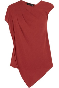 Amanda Wakeley | Asymmetric Crepe Top