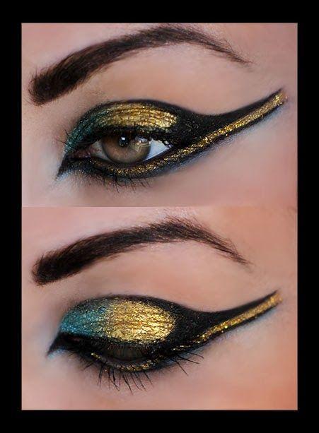 Halloween lähestyy ja olen jo pitkään halunut   tehdä Kleopatra meikin, joten tässä sellainen :)     Soon it's Halloween and I h...