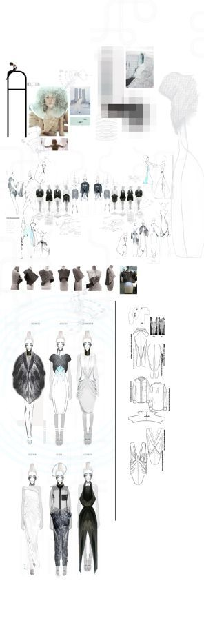 Fashion Sketchbook - fashion drawings; fashion design development; fashion portfolio // Felicity Bradshaw