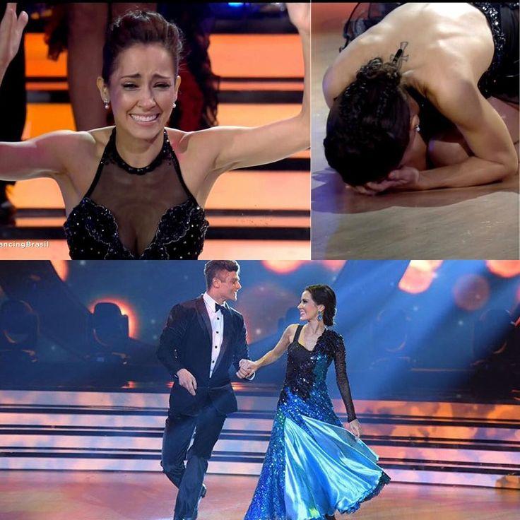A @maytepiragibe foi a grande campeã do #DancingBrasil, levando a melhor contra @jade_barbosa e @leo_miggiorin! O que vocês acharam do resultado?! Foi 1 por cento de diferença entre ela e Jade!!!