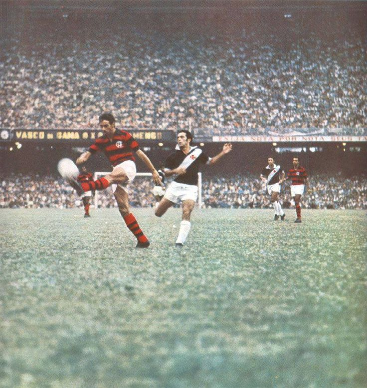 Vasco da Gama vs Flamengo at Maracanã, 1960s