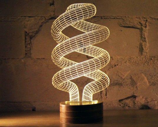 BULBING, Studio Cheha, led lamp, led, sustainable design, green design, green lighting, green interiors, energy-efficient lighting, optical ...