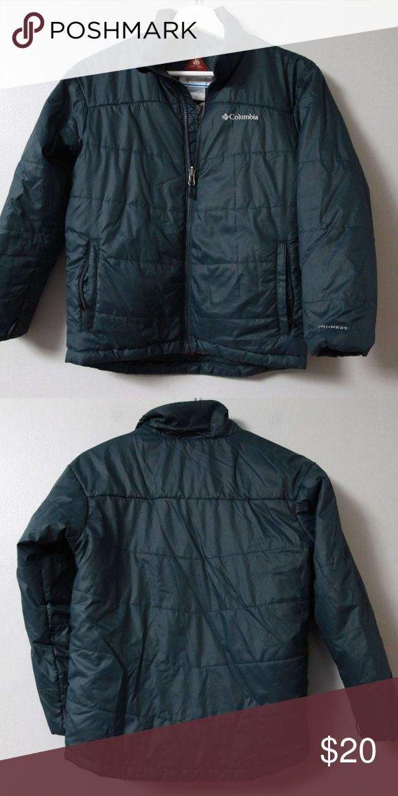 Columbia Interchange Jacket Layer Girls M Girls green quilted jacket from Columbia in size medium. Part of the interchange system, can be worn with additional pieces or alone. This is the only piece sold in this listing. Great for winter. Columbia Jackets & Coats
