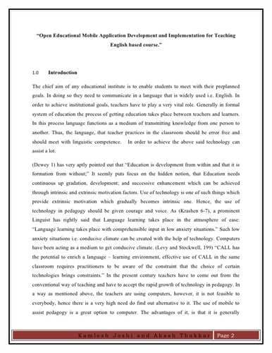 how to write an effective introduction for a research paper