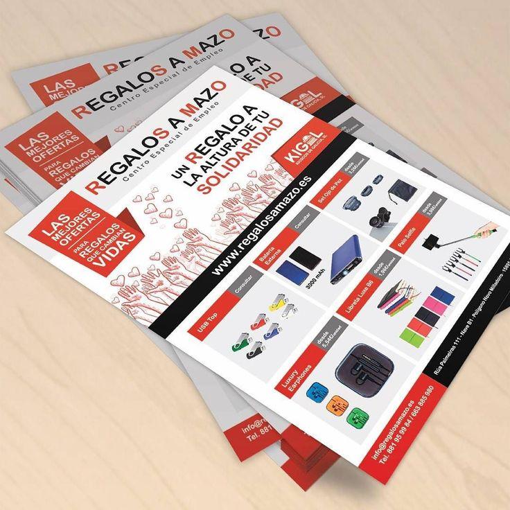 Nuevo flyer para Regalos A Mazo centro especial de empleo  #diseñoGalicia #galiciaDiseño #Yeti #galiciaCalidade #galicia #diseño #comunicacion #love #vedra #santiagoDC #trabajoBienHecho #imagenCorporativa #instagood #happy #swag #design #graphicDesign #amazing #bestOfTheDay #art #creatividad #creative #empleo #kiosco #flyer #galicia #regalo #solidaridad #ofertas