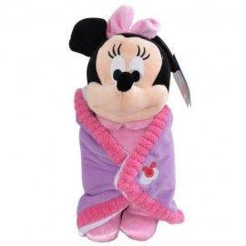 Disney Battaniyeli Minnie Peluş 25 cm