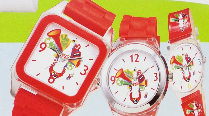 Coca-cola PVC watch 5243(3)