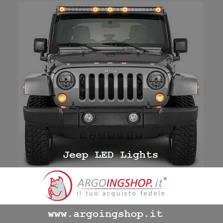 🔖 Jeep LED Lights for Italy & Europe Market  🚍 The ArgoingShop offers huge selection of headlights, tail lights, light bars, fog lights & Accessories for all Jeep vehicles.  ✔ Visit Shop Here: www.argoingshop.it  . . . . . . #LEDLights #LED #Jeep #JeepAccessories #JeepLEDLights #Headlights #TailLights #ArgoingShop #Italy #Europe
