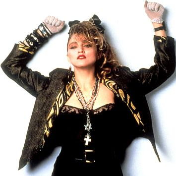 "Madonna's ""Desparately Seeking Susan"" look"