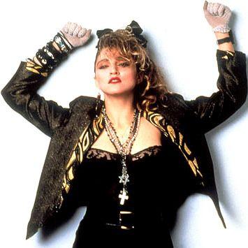 "Madonna's ""Desparately Seeking Susan"" look"